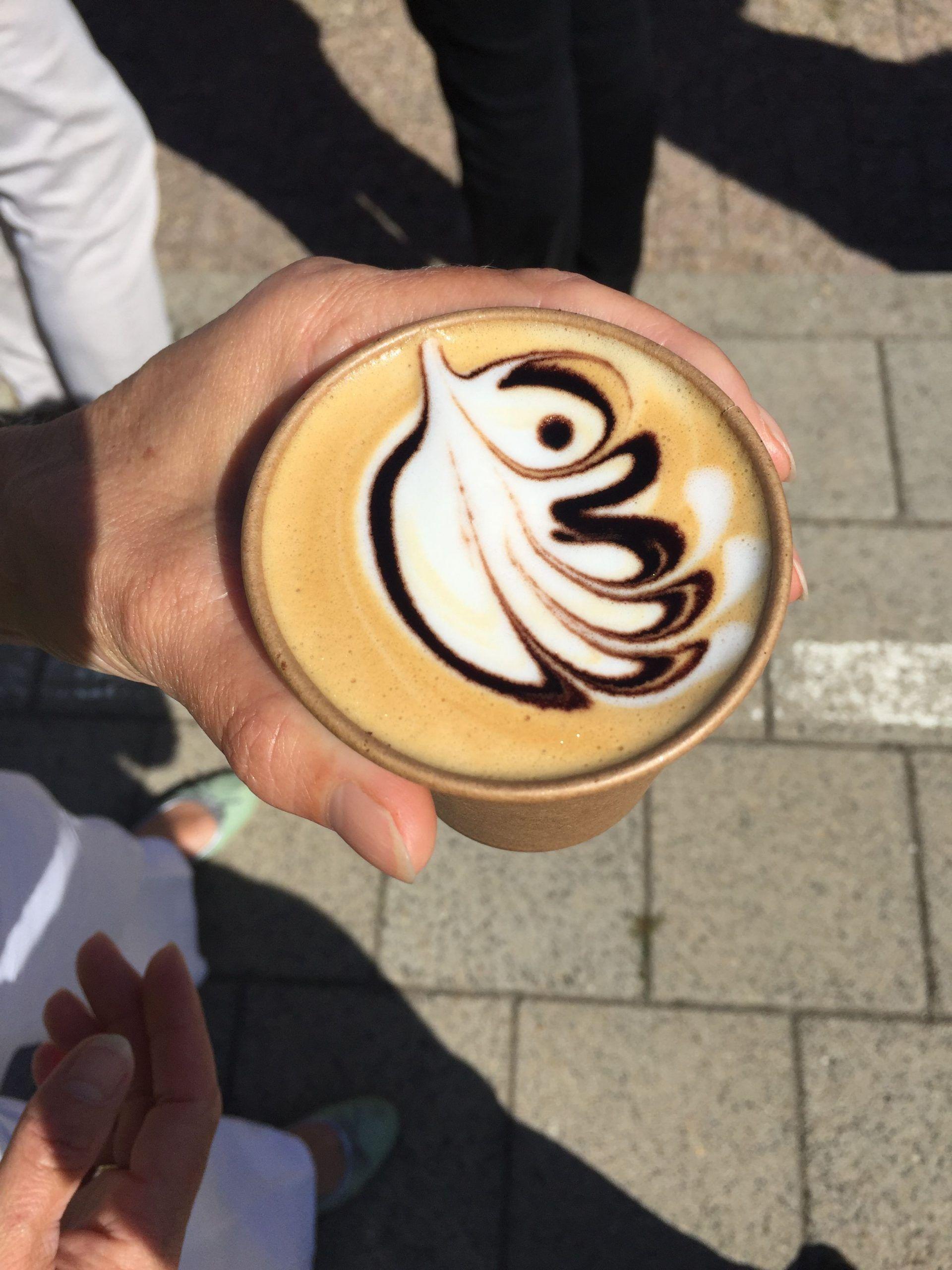 Koffie tijdens de lifestyle beurs is verkrijgbaar bij Barista Company