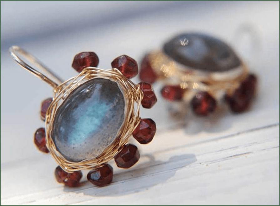 Handcrafted fashion jewelry van `t BinnenBuitenHuys tijdens de voorjaarsbeurs in Baarn