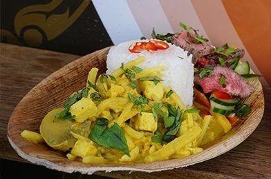 Heerlijke Thai Curry van IndyTruck tijdens Exclusive Spring Fair
