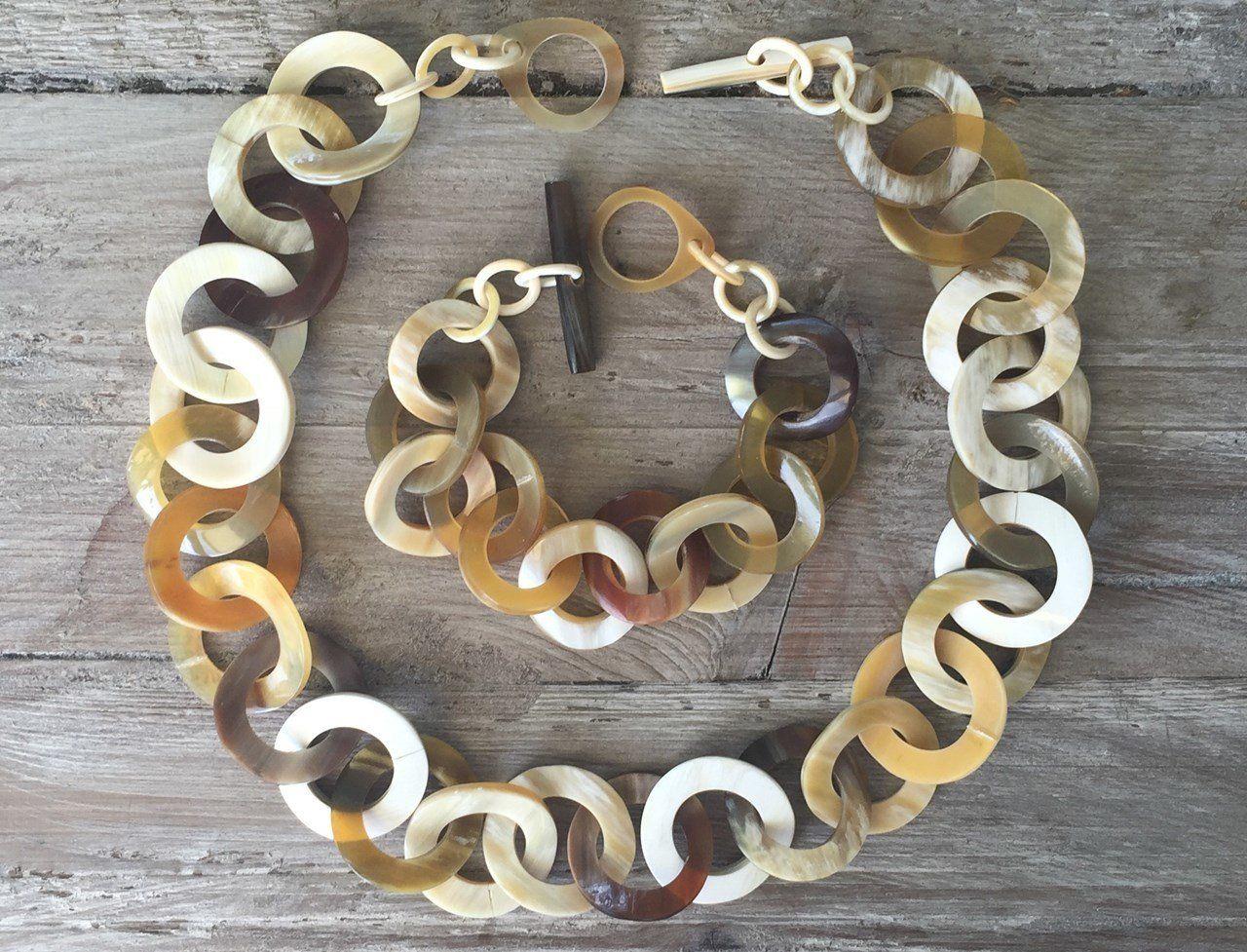 Bij Joyline-Creations vind je Buffelhoorn sieraden bij de voorjaarsbeurs in Baarn