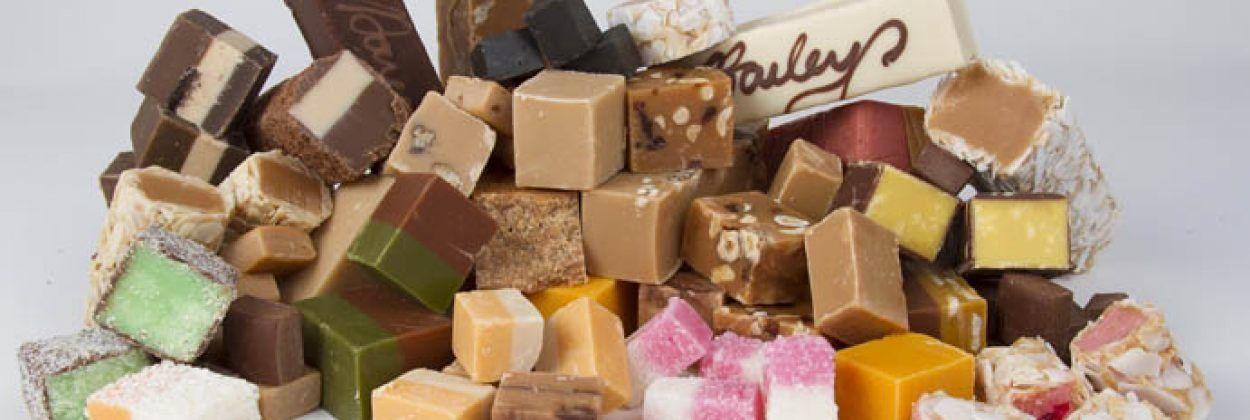 Jacaro Fudge World in het Delifood Paviljoen bij Exclusive Spring Fair in Baarn