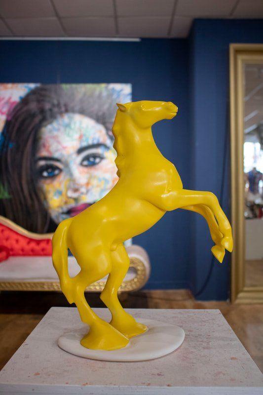 Hedendaagse kunst van Galerie Muskee bij Exclusive Spring Fair