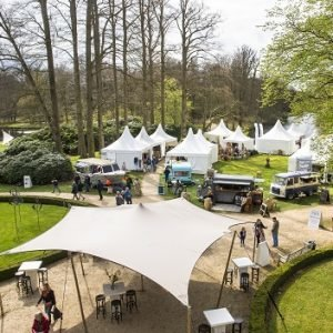 Sfeerimpressie kasteeltuin Kasteel Groeneveld Exclusive Spring Fair