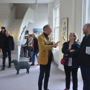 Sfeerimpressie kunstkamer Exclusive Spring Fair