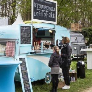 Sfeerimpressie foodtrucks Exclusive Spring Fair