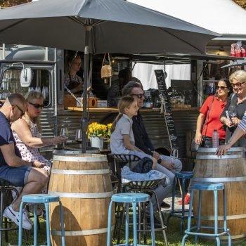 Foodtruck Appeltje hytje on the Spring Fair