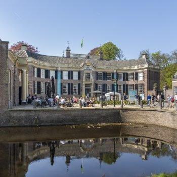 Groeneveld Castle during a sunny Spring Fair