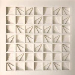 Papierrelief van Tim van Eenennaam gerepresenteerd door De hofgalerie in themakamer art & interior