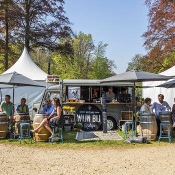 Sfeerbeeld tuin kasteel groeneveld tijdens Exclusive Spring Fair