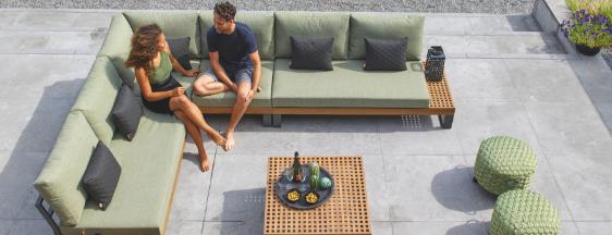 Kom jij de loungeset van Buitenhof Tuinmeubelen uitproberen tijdens Exclusive Spring Fair