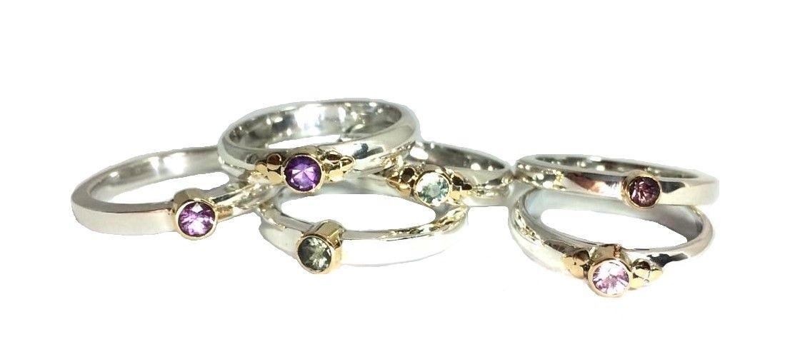Unieke en mooie handgemaakte sieraden met edelstenen van NJAmsterdam bij de voorjaarsbeurs van Baarn
