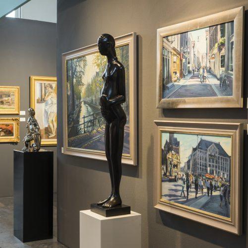 Overview FINE art & antiques fair in Baarn