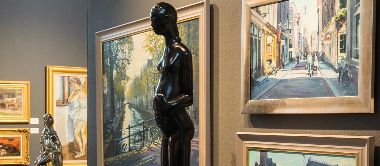 FINE art & antiques fair in Baarn