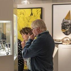 Sfeerbeeld kunstbeurs FINE art & antiques fair Baarn