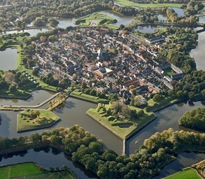 Vestingstad Naarden VestingLuchtfoto ANP copyright Flying Focus BV